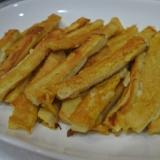 高野豆腐で美味しい!スティックフレンチトースト