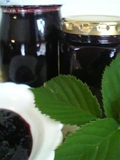 お庭で採れたブラックベリーでジャム作り♪