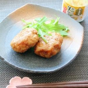 糖質オフ☆豚挽き肉と豆腐のふんわりハンバーグ♪
