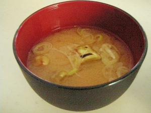 焼きナスのお味噌汁