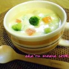 あったまる(*^^*)味噌入りクリームシチュー