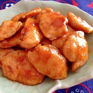 照り焼き☆やわらか鶏むね肉