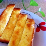 ガーリックバターで美味しいトースト☆