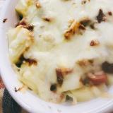 ジャガイモのチーズカレーグラタン
