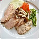 圧力鍋で超簡単&時短♪野菜たっぷり蒸し鶏☆