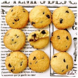 おからと大豆粉のチョコチップクッキー