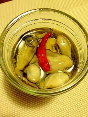 保存&ワインに合う☆牡蠣のオイル漬け