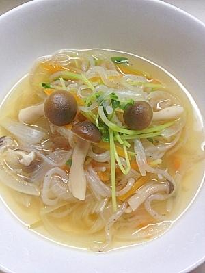 残り野菜で作る☆ダイエット野菜スープ‼①