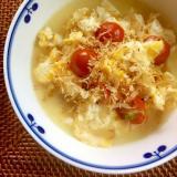 糖質制限☆豆腐とトマトの卵とじ風