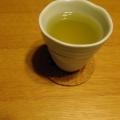 ハチミツ生姜の緑茶ホットレモン