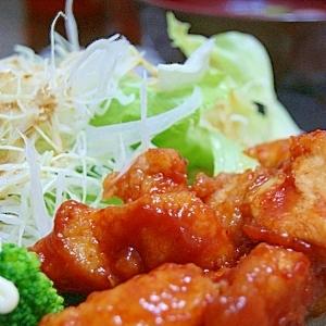 鶏ムネ肉でピリ辛ケチャップ炒め