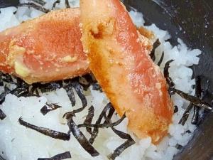 コクと旨味アップ! 「マヨ焼き明太子丼」