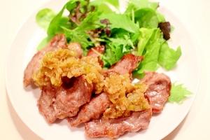 簡単!手作りネギ塩ダレで食べるラム焼肉