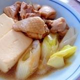 鶏ももで作る★肉豆腐