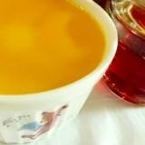フライパンで!! かぼちゃの蒸しプリン