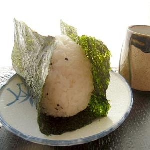 牛肉椎茸の佃煮のおにぎり