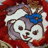 ステラルーのバースデーケーキ
