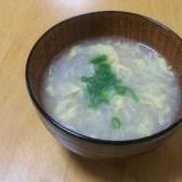 レンコンと生姜のスープ