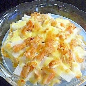 山芋と鮭のチーズ焼き