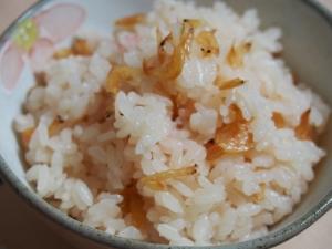 春色☆桜えびの炊き込みご飯