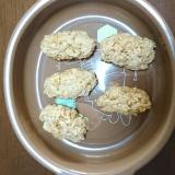 離乳食後期:トースターで簡単オートミールクッキー