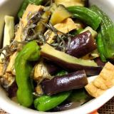 夏野菜と厚揚げの焼き浸し