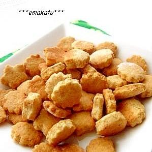 はちみつ&全粒粉で♪ざくざく☆グラハムクッキー