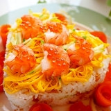 愛情たっぷり♪簡単押し寿司