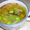 キャベツとひじきのコンソメスープ