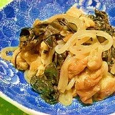 グリーンカーテンを食べる☆干しオカワカメの炒め煮