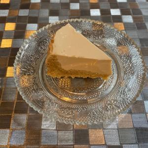 低糖質!プロテインタルトのクルミレアチーズケーキ!
