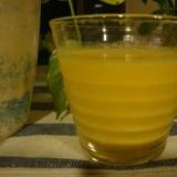 ビタミンとカルシウムを取ろう オレンジヨーグルト