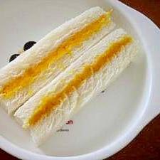 離乳食☆かぼちゃヨーグルトサンド♪