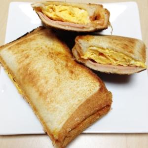 ホットサンド〜ハム・チーズ・卵〜