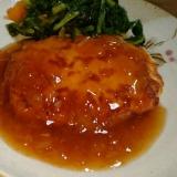 鶏むね肉&豆腐でヘルシー ピリ辛つくね風ハンバーグ