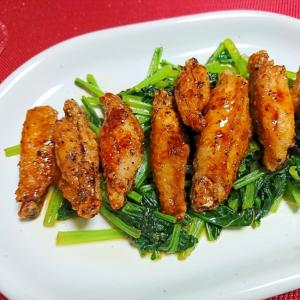 鶏手羽先のポン酢煮