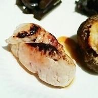 日本酒にワインに、あん肝キャラメリゼ