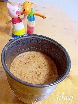 シナモン効果でぽっかぽか☆チャイティー