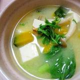 紫蘇風味が美味しい味噌汁