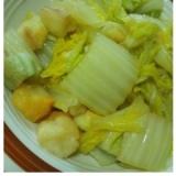 白菜と麩の煮物