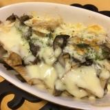 筍と舞茸のチーズ焼き