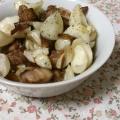 ほっこり!百合根とベーコンのクレソル炒め