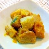 かぼちゃと里芋の甘味噌煮