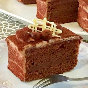 濃厚♡チョコレートケーキ