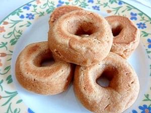 フライパンでもちもち焼きドーナツ