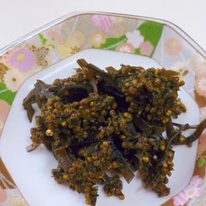 紫蘇の実と昆布の醤油煮~ご飯のお供に~