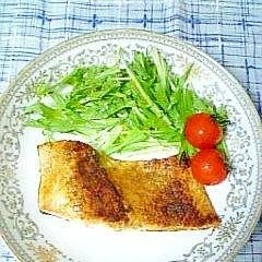 鮭のカレームニエル
