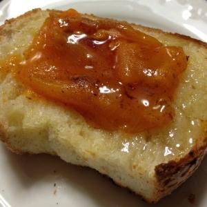 冷凍干柿☆ハニーバタートースト