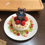 1歳の誕生日♪離乳食ケーキ