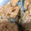 鯖の水煮缶詰でサバの味噌煮